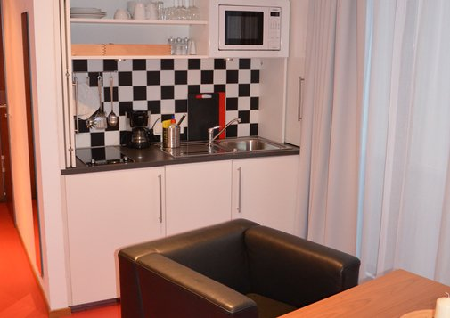Kitchenette im Appartement