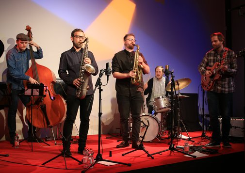 Perssons Sexa am 14.01.2017 bei Campus Jazz